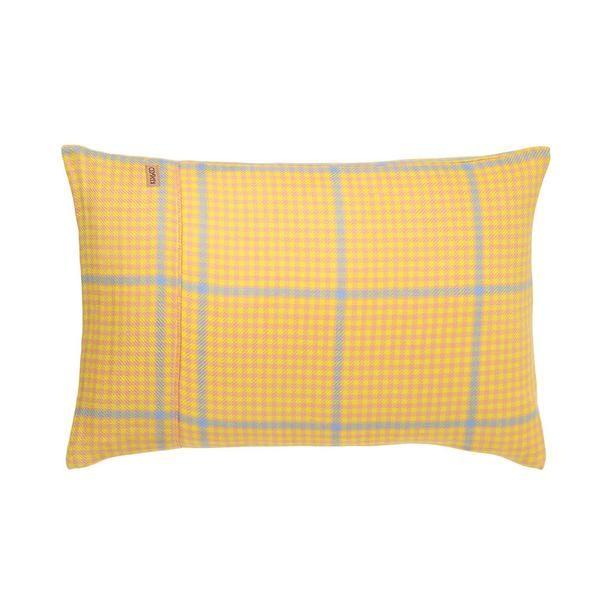 Hounding lemon pillowcase