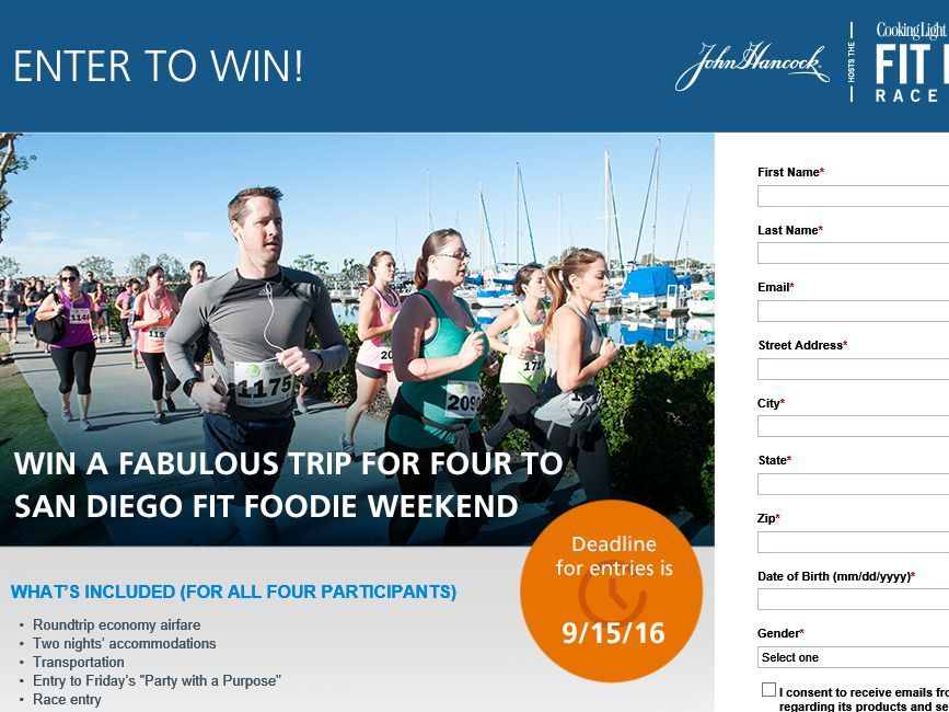 The John Hancock Life Insurance Company Fabulous Fit Foodie