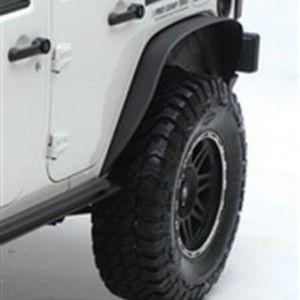 Smittybilt 76875 Xrc Rear 3 Fender Flares 97 06 Tj Wrangler Textured Black 0 Jeep Wrangler Tj Fender Flares Jeep