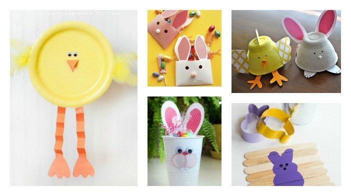 Lavoretti di Pasqua per bambini 5 idee creative da fare insieme
