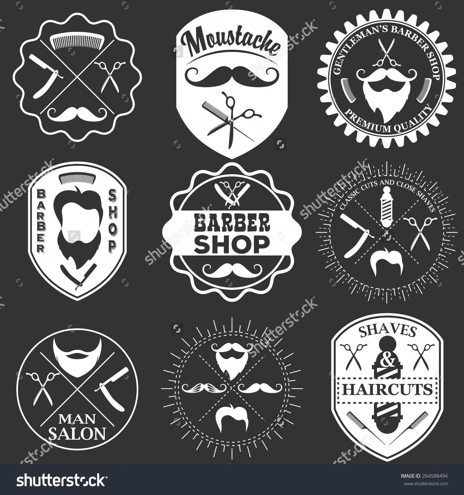 Antique barber shop signs - Vintage Tools Logo Hledat Googlem Barber Logobarber Shopbeard