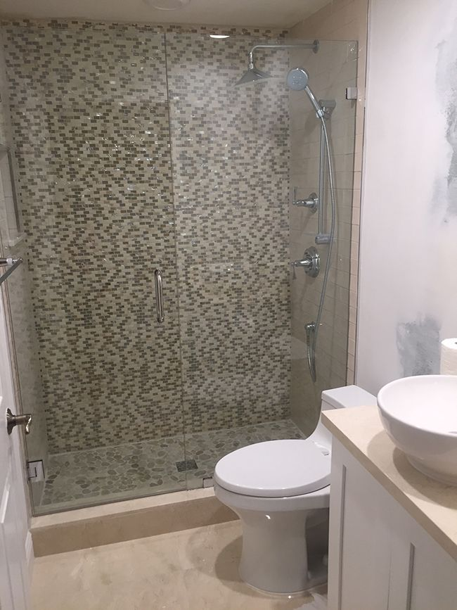 Agata Shell Mix Silver Mosaic Glass Tile Bathroom Tile Bathroom