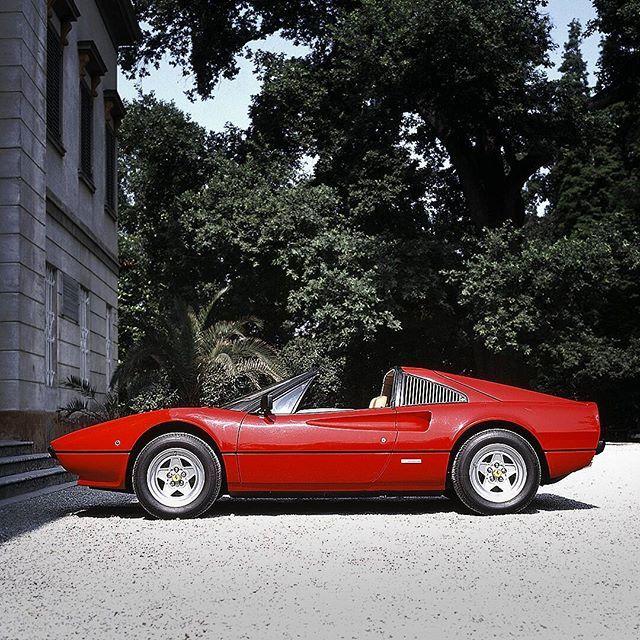 Ever-red. #Ferrari #RossoFerrari #308GTSi #classiccar