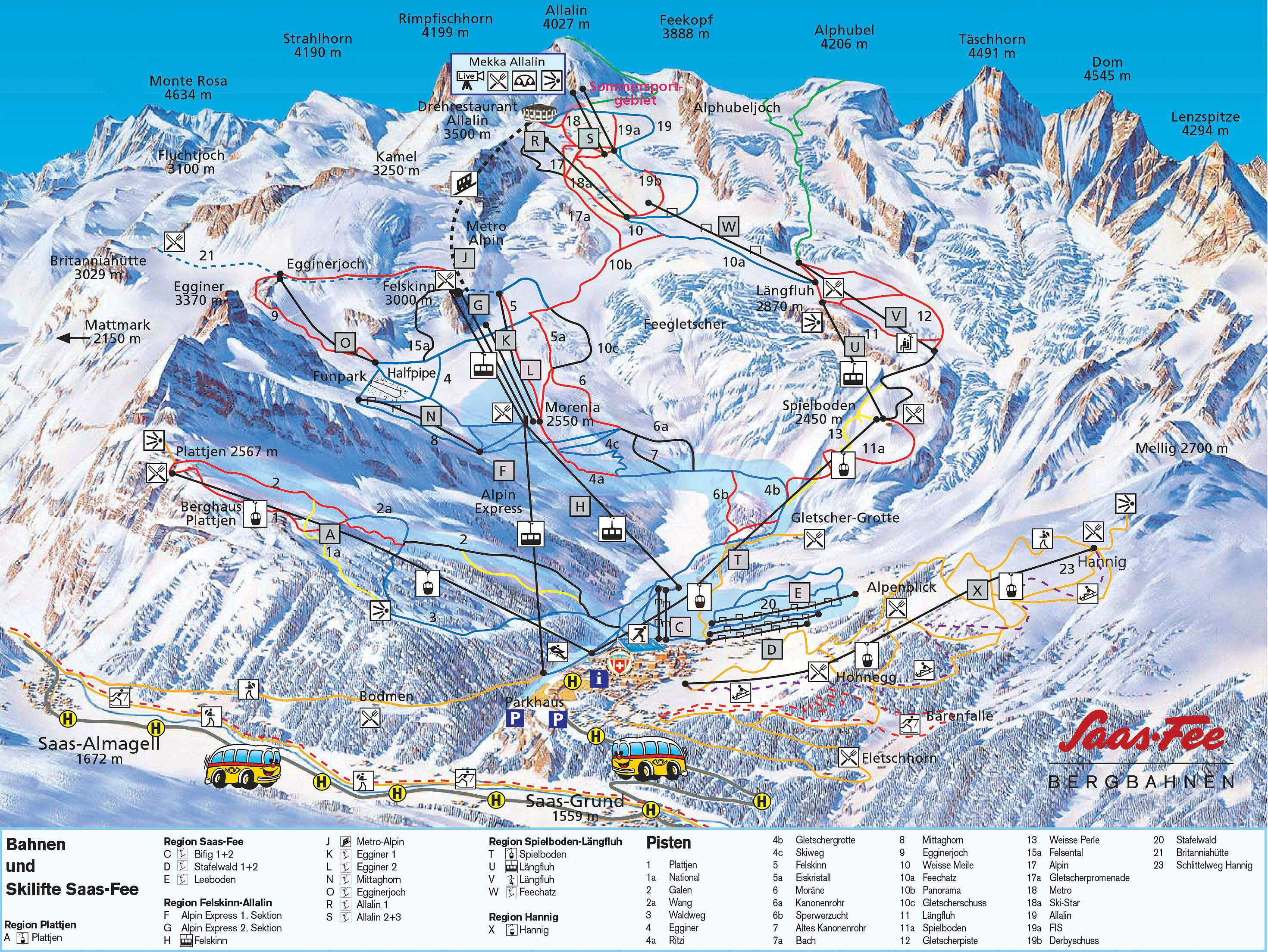 Saas Fee piste map | Saas fee, Snow resorts, Swiss alps skiing