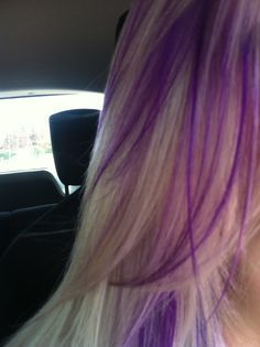 Blonde hair with purple streaks google search things i want blonde hair with purple streaks google search pmusecretfo Choice Image