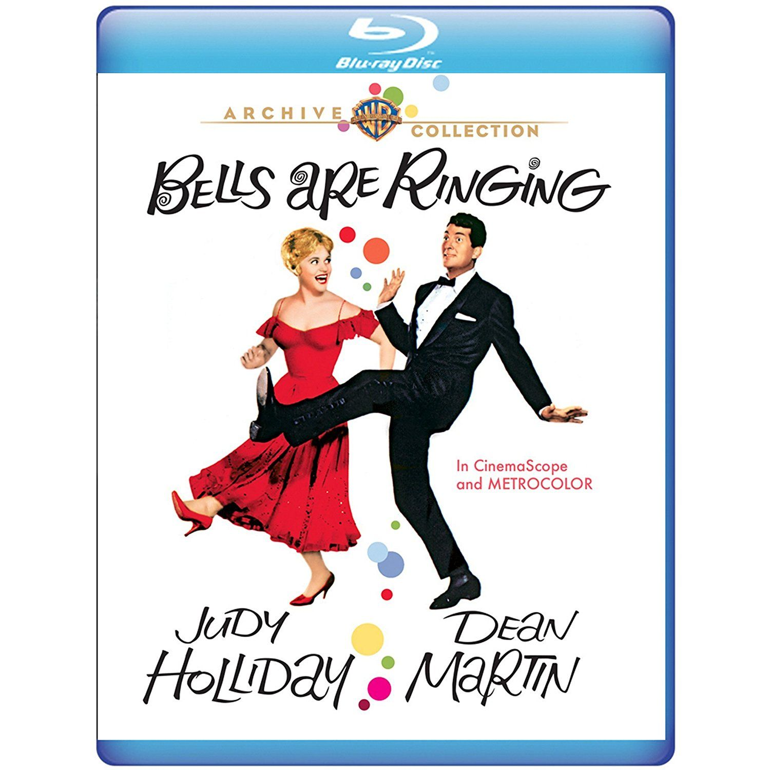 BELLS ARE RINGING (1960) Bluray Judy holliday, Musical