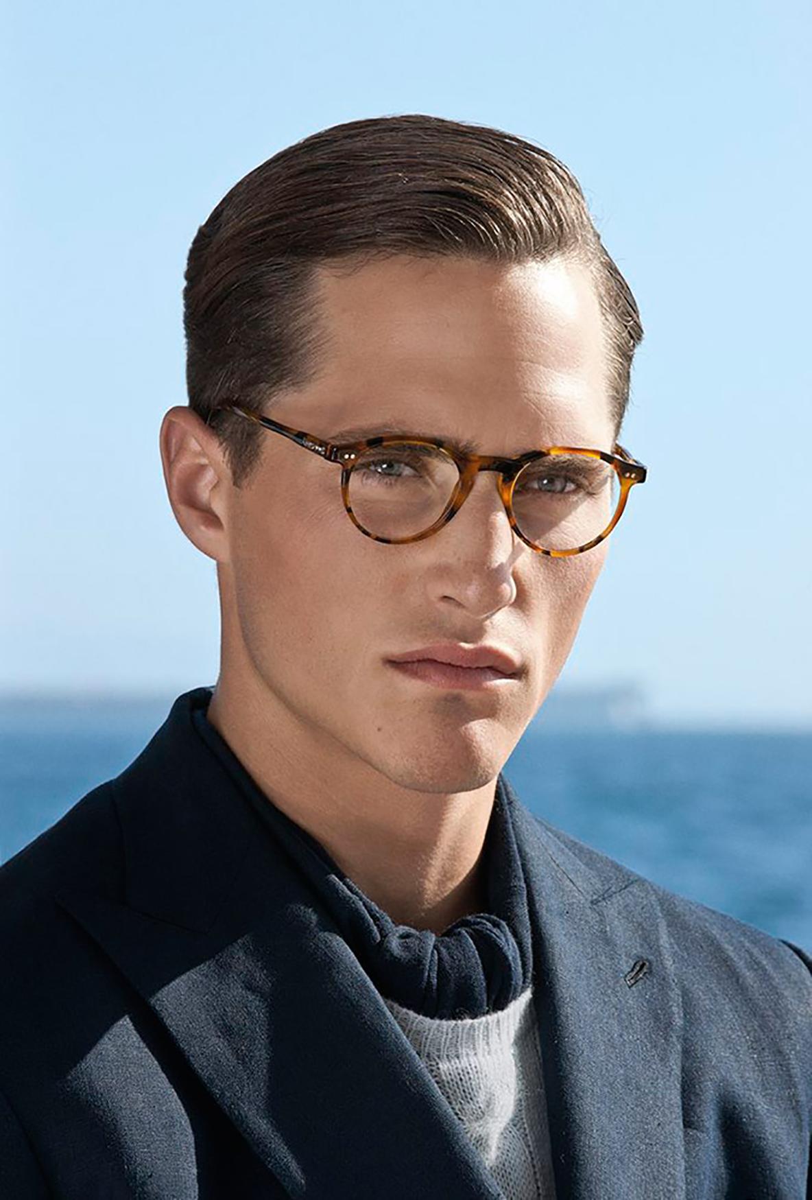 ea06d789505e How to match men s hair cut with glasses - Lenskart Blog