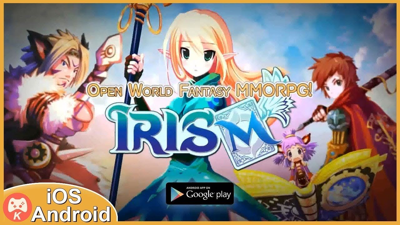 IRIS M Open World MMORPG Gameplay iOS Android Games