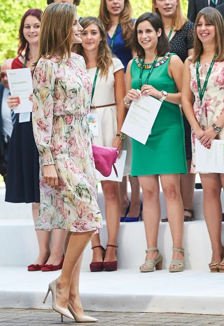 King Felipe and Queen Letizia Deliver Iberdrola 2016 Scholarships