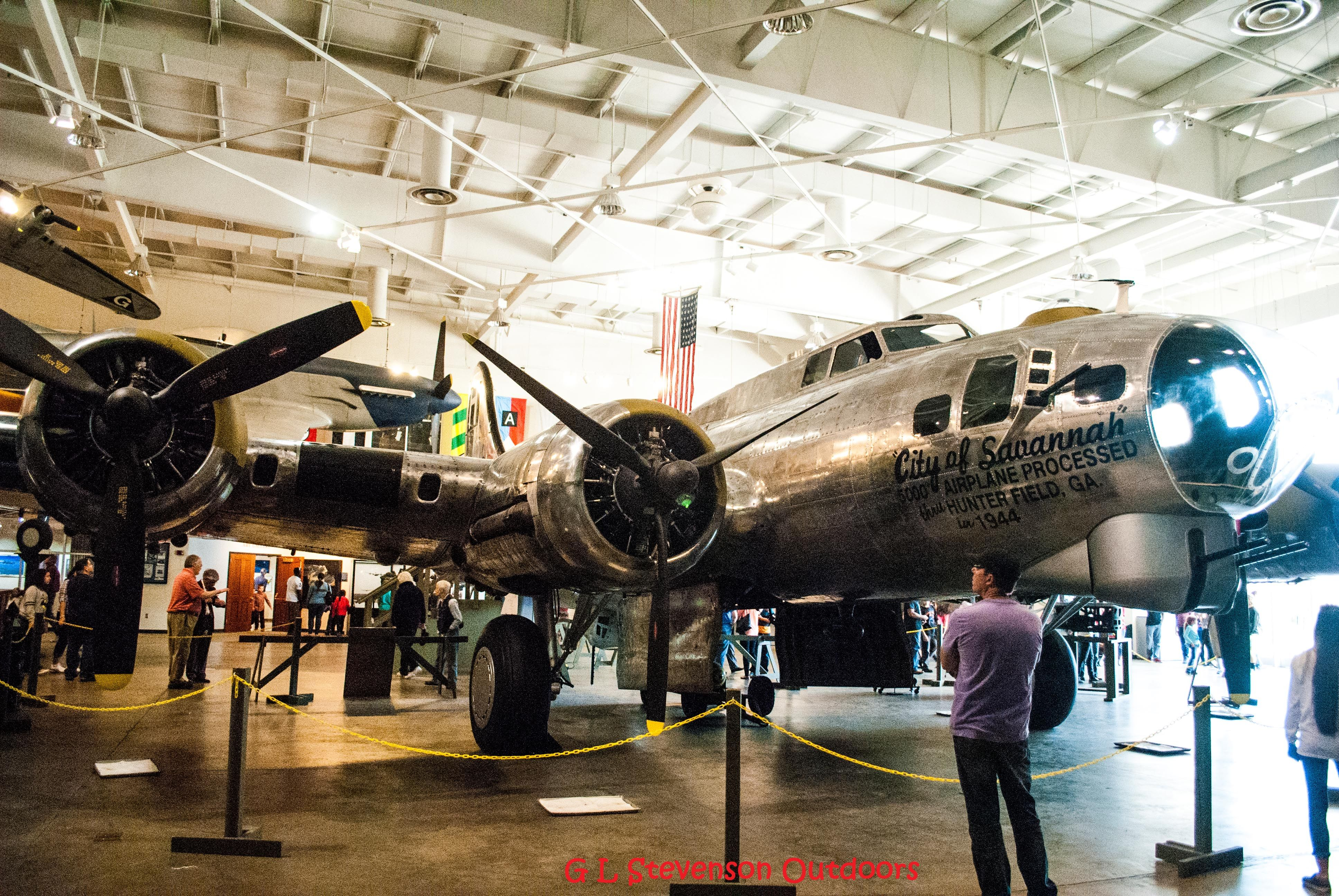 B17G at the Mighty Eighth Air Force Museum (With images