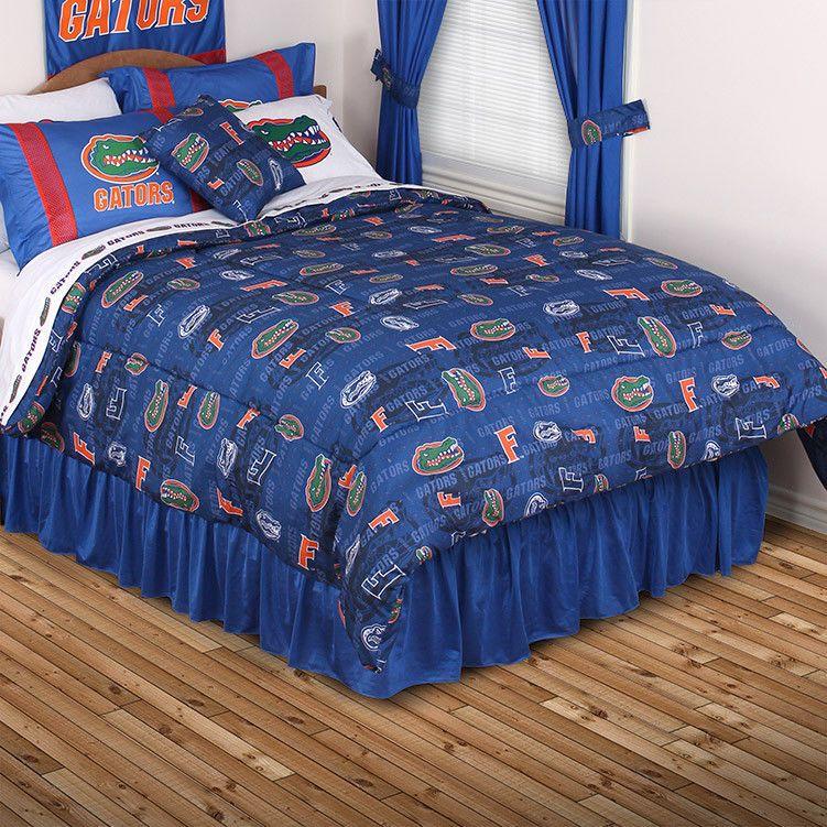 Florida Gators NCAA All Over Print Comforter Full/Queen