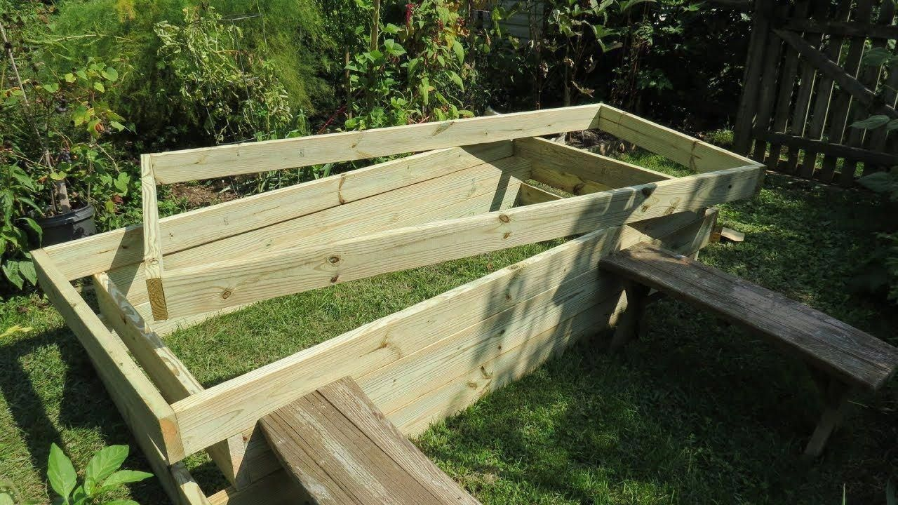 How To Build A Raised Bed Vegetable Garden Frame Cost 400 x 300