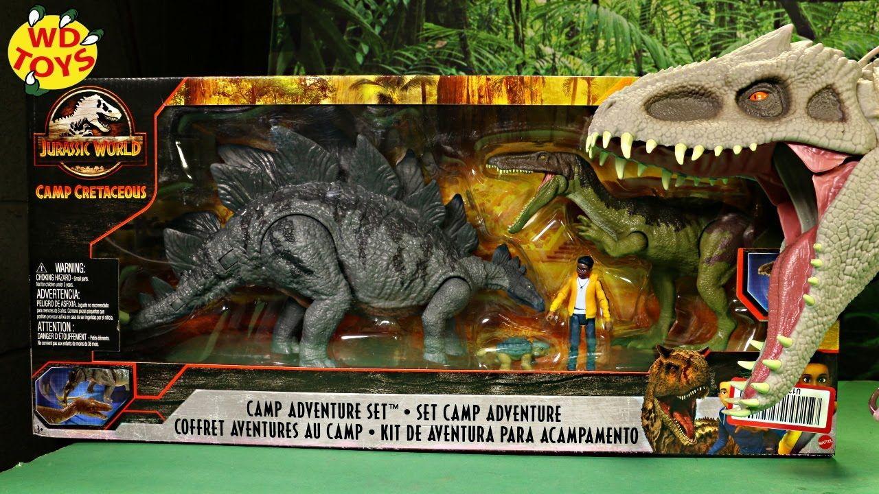 Jurassic World Camp Cretaceous Camp Adventure Set Unboxing