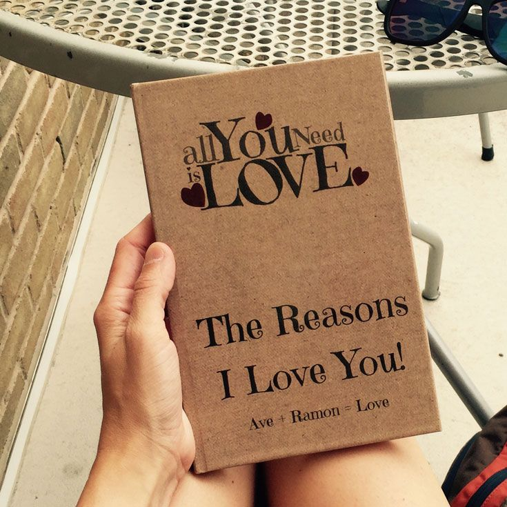 89edba1e2fb LoveBook is the most unique personalized gift idea you could ever give to  someone you love. Create your own personalized book of reasons why you love  ...
