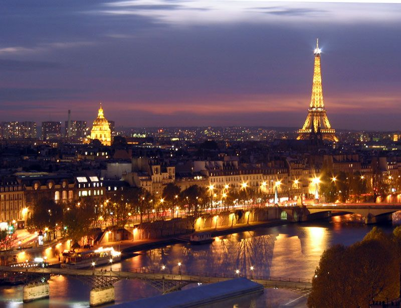 The city of lights!