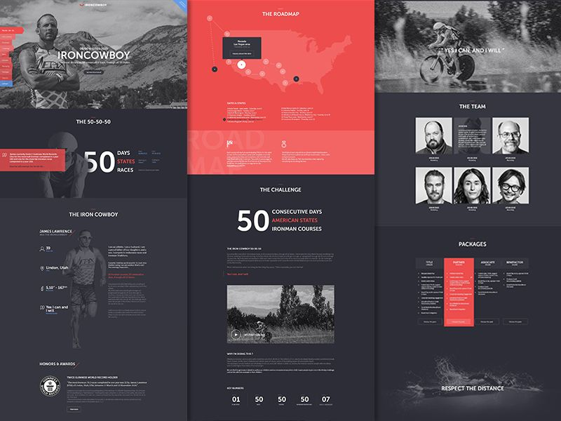 Ironman Ui design, Ui ux and Ui inspiration - website proposal template