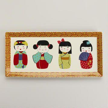 Kokeshi Platter