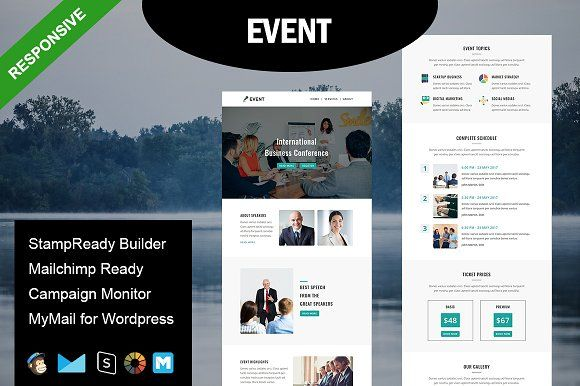 Event Responsive Email Template Responsive Email Template