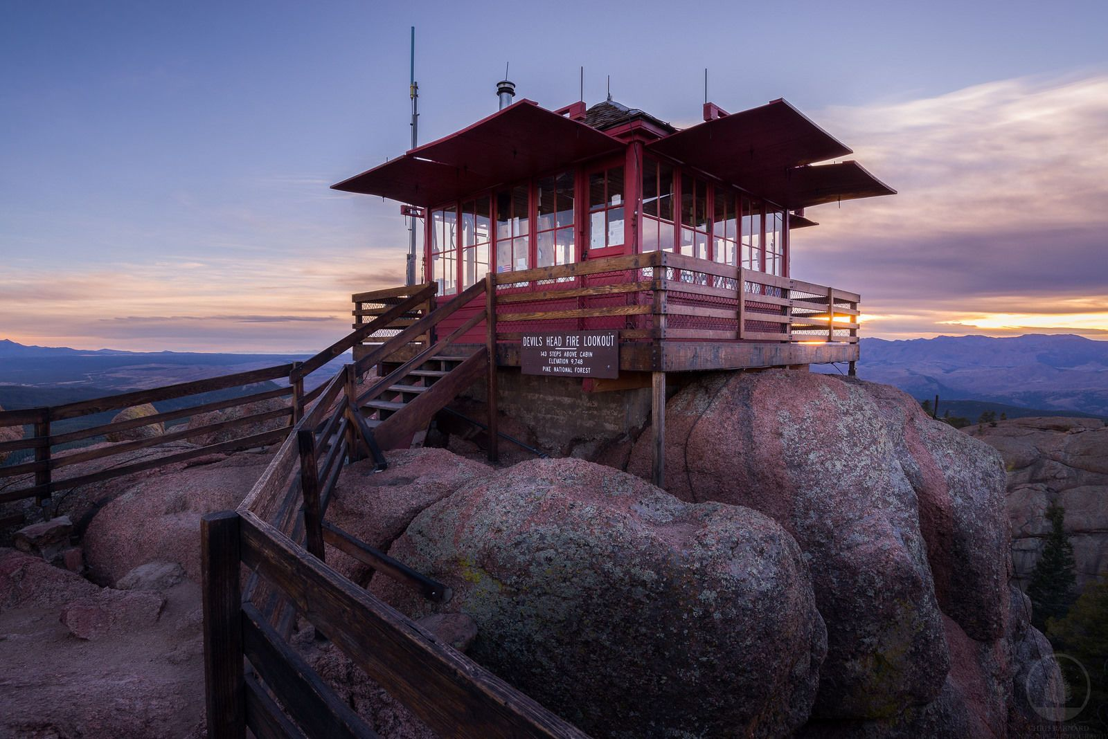 Devil's Head Lookout Trail to Fire Tower | Colorado | Colorado ... on