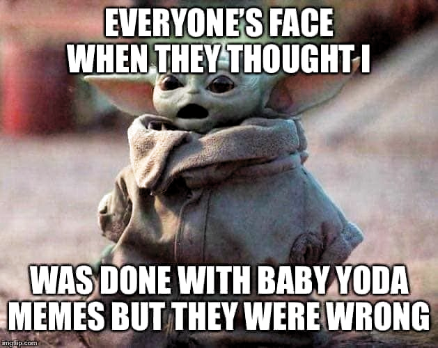 Pin By Kellir On Humor Yoda Funny Yoda Meme Yoda