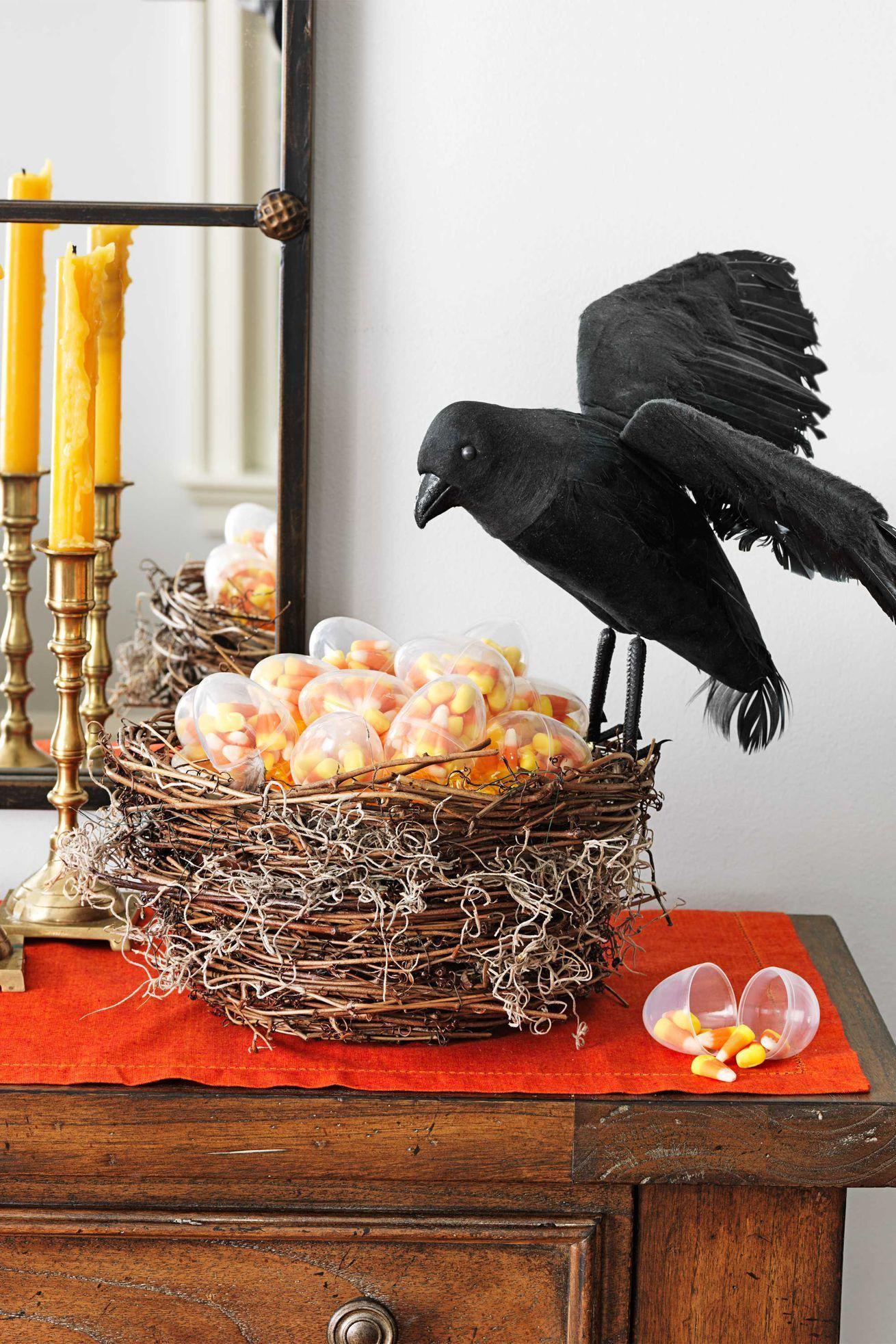 50 Easy Halloween Decorations  Spooky Home Decor Ideas For