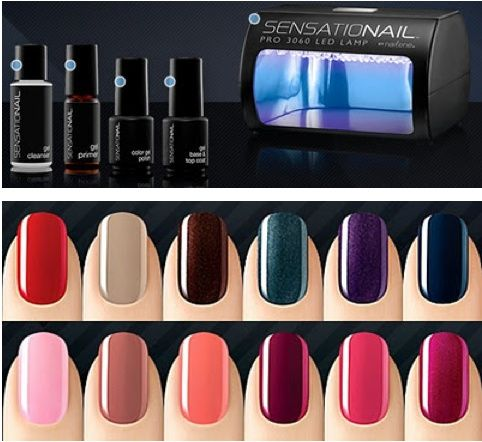 Sensationail At Home Gel Manicure Kit Available At Cvs And