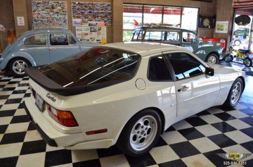 1986 Porsche 944 Turbo Alpine White On Craigslist Used Us Cars Porsche 944 Porsche Alpine White