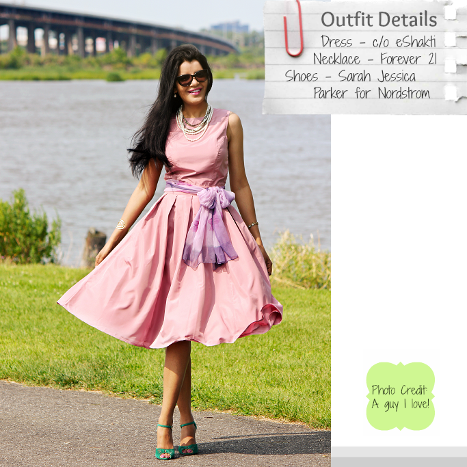 eShakti Dress For Weddings, Sarah Jessica Parker for Nordstrom Shoes ...