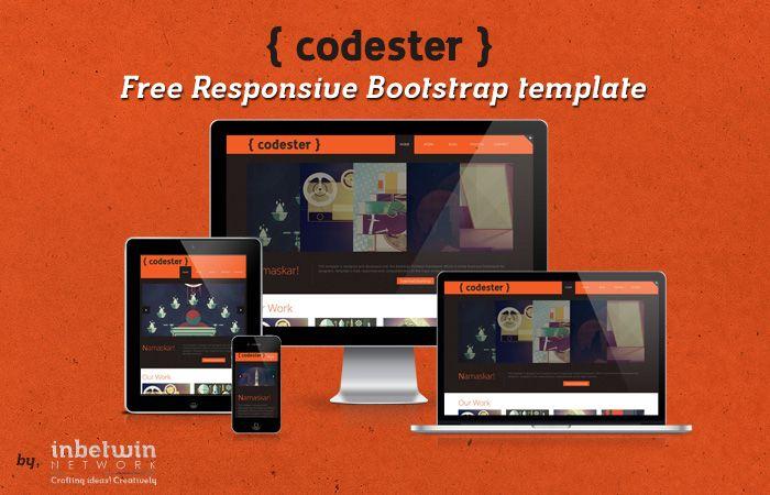 Codester: Free Responsive Bootstrap Template http://dzyngiri.com ...