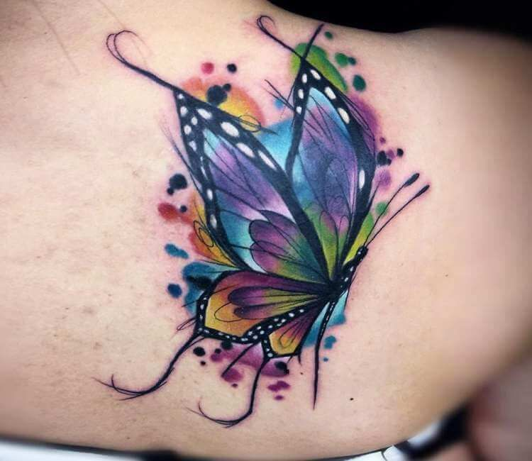 Photo of Photo – Butterfly tattoo by Vinni Mattos | Photo 23022