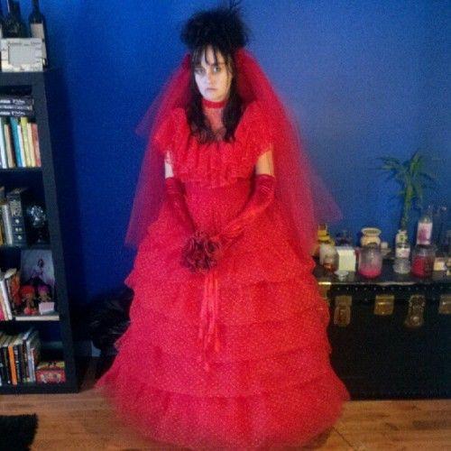Jopincushion Lydia Deetz Ladies And Gentlemen Taken With Instagram October Outfits Wedding Dress Costume Lydia Deetz Costume