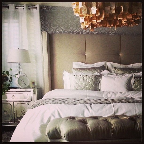 robert shares his chic bedroom using z gallerie's nina bed