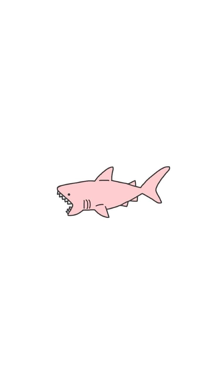 Pink cutiest shark ever! (Maybe its cute) haha lol