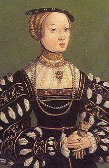 Isabel de  Austria (1526 - 1545). Reina de Polonia.