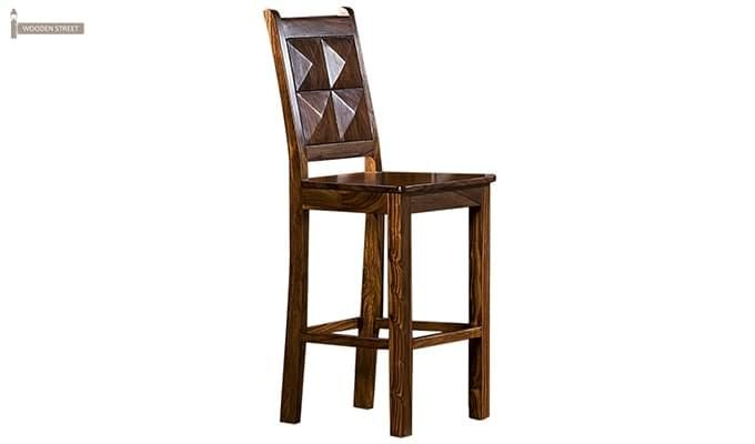 Buy Gerard Bar Stool With Teak Finish Online At Best Prices From