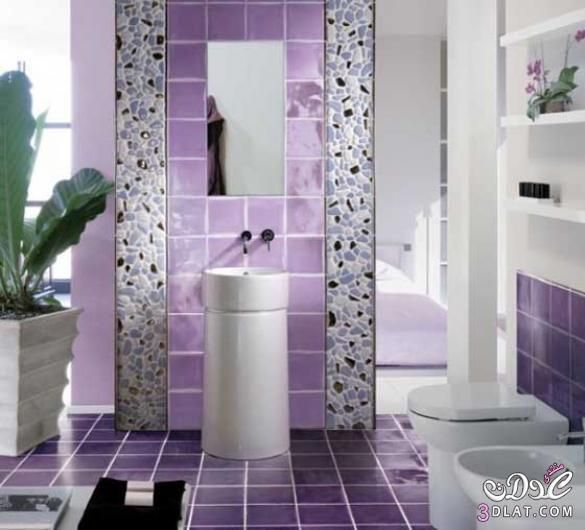 انواع سيراميك فخمه سراميك 2020 احدث تشكيلات صور سيراميك حمامات جديده اشكال Lavender Bathroom Top Bathroom Design Bathroom Shower Tile