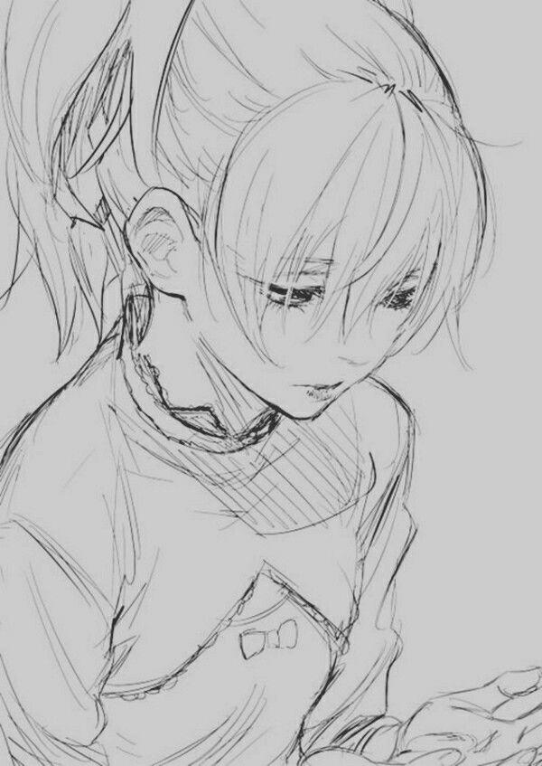 Amazing Anime Drawing Anime Sketch Anime Drawings Anime Art