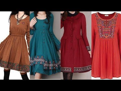de3ed5cda stylish and latest Check frock designs for girls Casual Cotton ...