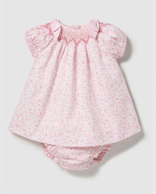 Vestido de bebé niña Dulces estampado con lazos  ed14066923d