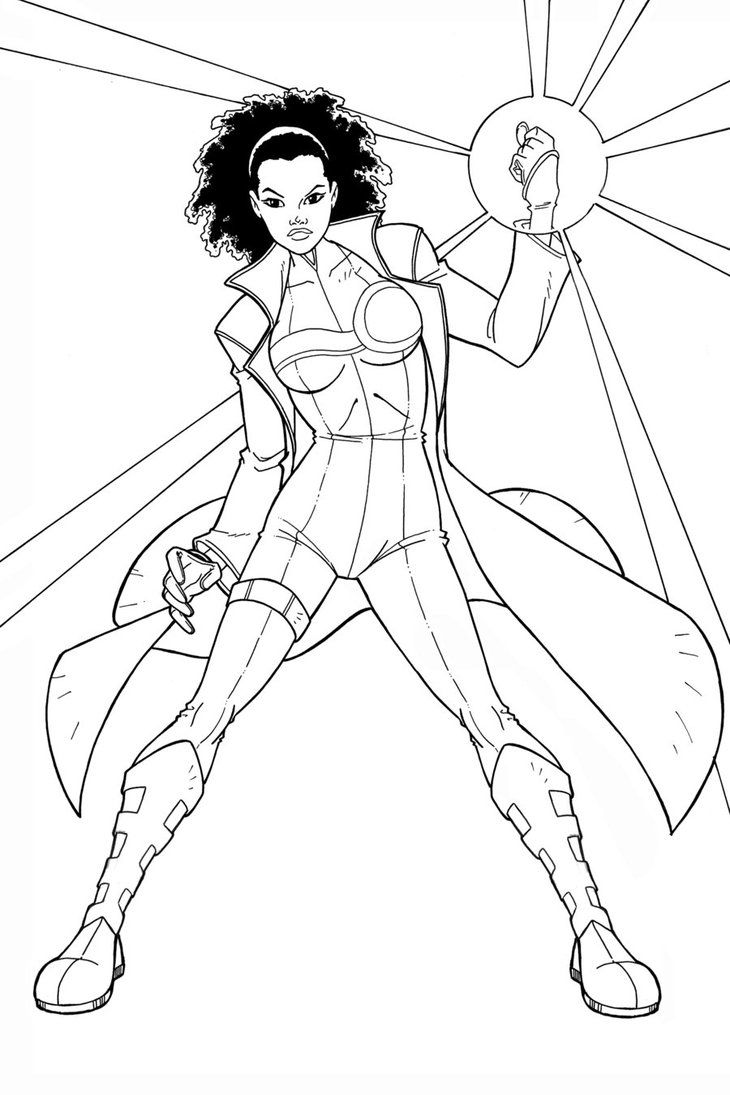 Photon-Monica Rambeau by JamieFayX on DeviantArt | Monica Rambeau ...