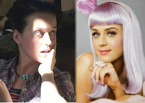 Katy Perry Without Any Makeup Sin Maquillaje - Katy-perry-with-no-makeup