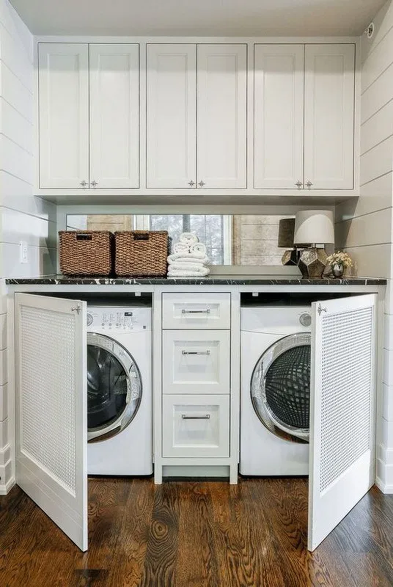 37 Best Small Laundry Room Decorating Ideas To Inspire You Tiny
