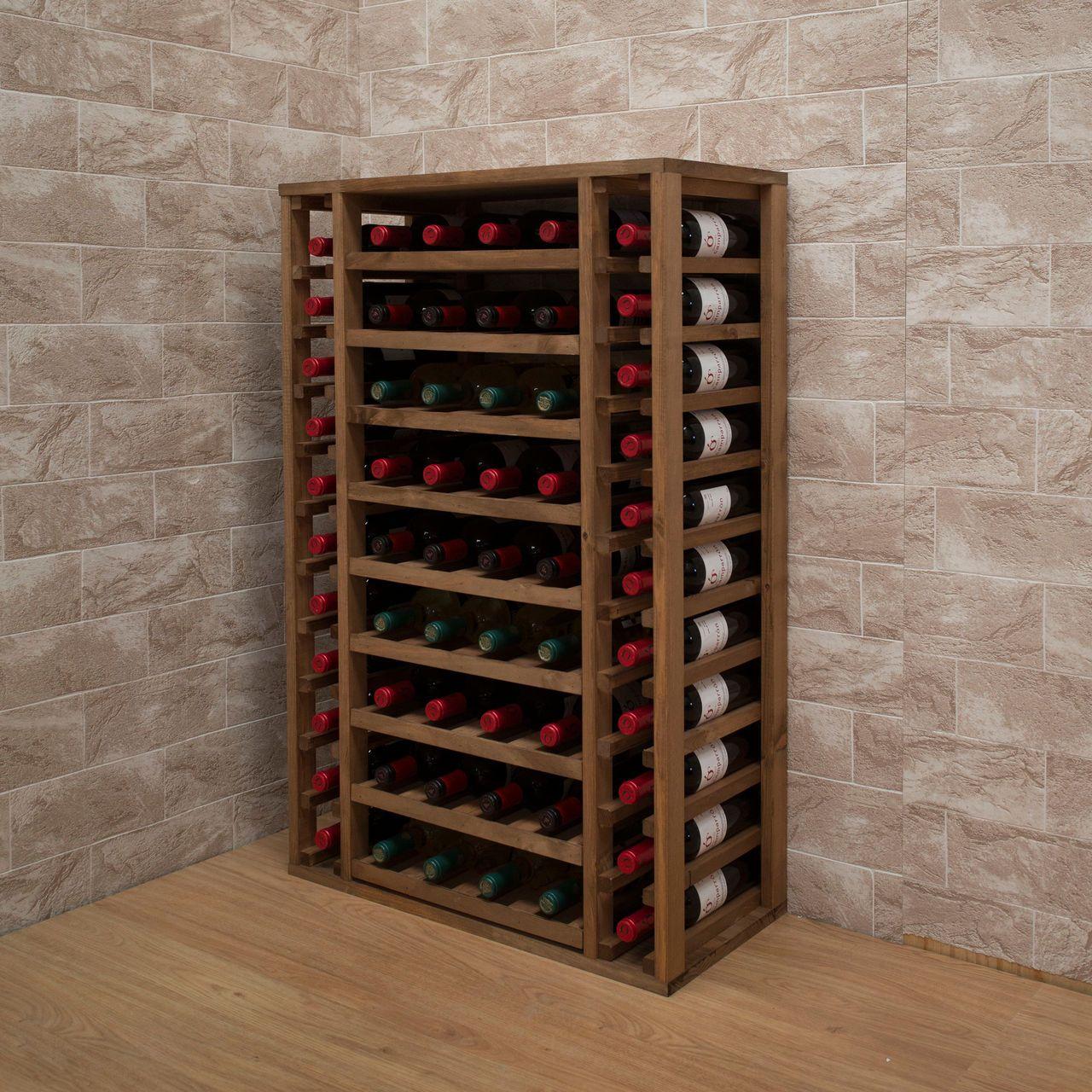 Weinregal PROVINALIA aus Holz sind grundsolide und standsicher ...