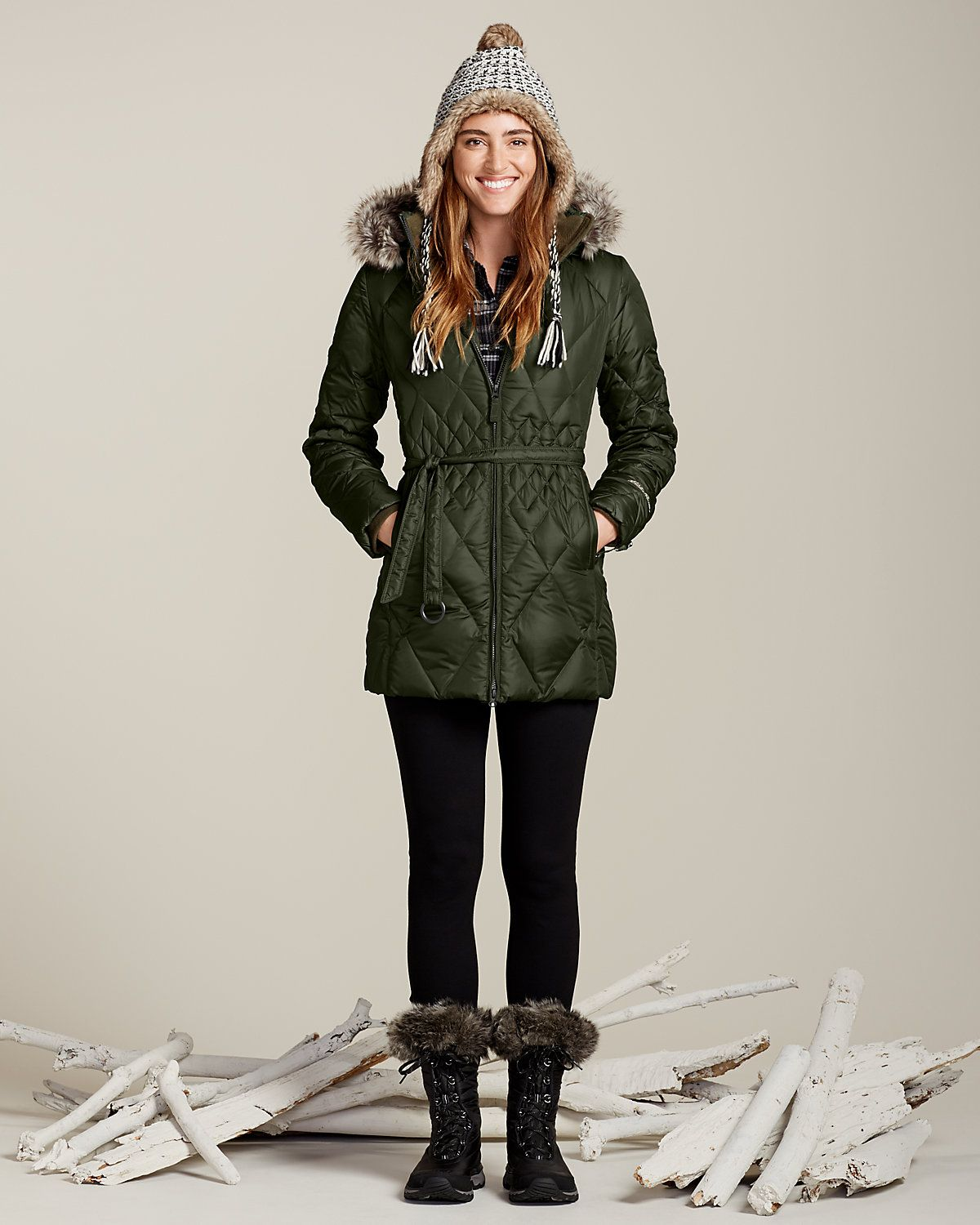 Women's Slope Side® Down Parka. 650 fill Premium Down ensures ...