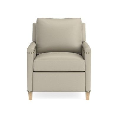 Addison Leather Recliner With Nailheads In 2019 Products