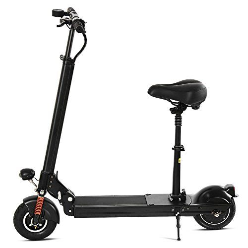 Foldable Electric Scooter 22mph Max Sd 330 Lbs Weight Limit Ultralightweight Urban Ebike Bike With 18650 Liion Battery Led Headlight Taillight