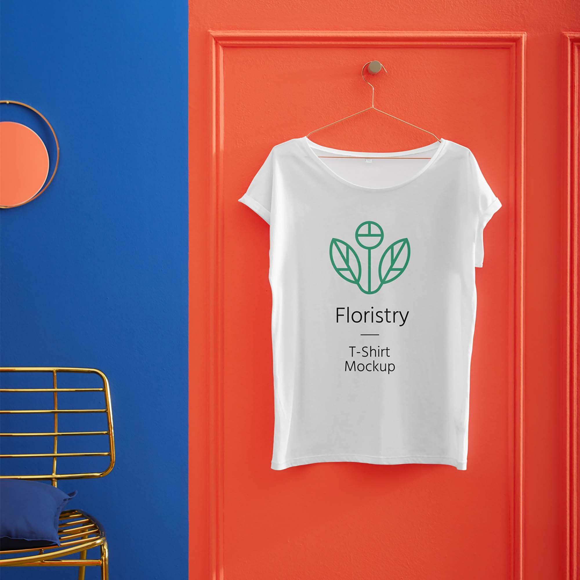 Download Free Hanging T Shirt Mockup Psd Shirt Mockup Tshirt Mockup Design Mockup Free