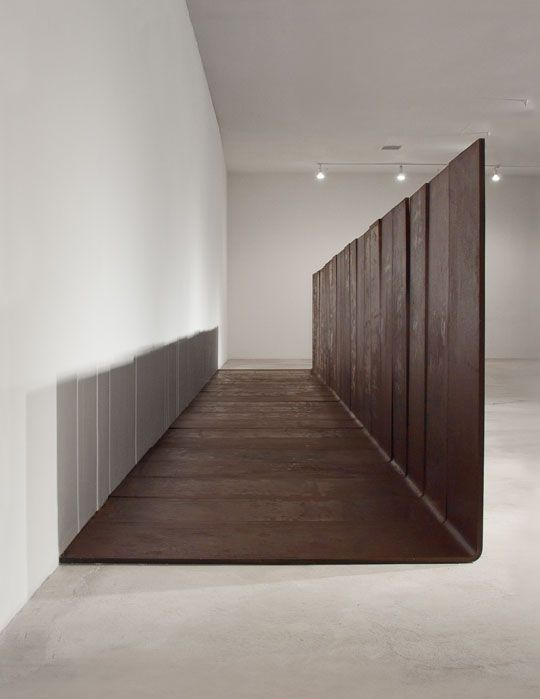 Carl Andre; corten steel plates; rigid poetry | art | Pinterest ...