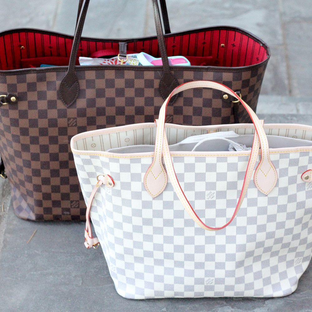 Lv Neverfull Tote As A Diaper Bag Mm Vs Gm Baby Diapers Etc