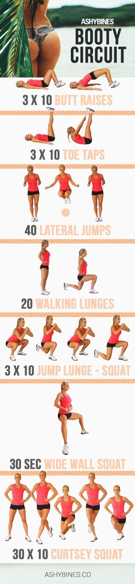 Curtsey squats are the best! -